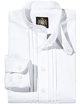 Hammerschmid 14601 Herren Trachtenhemd Weiss