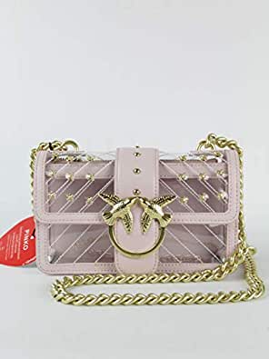 Love Pinko Cipria Bag Tracolla 1p21cwy5ezAmazon it P07 Rosa TJFKu31lc