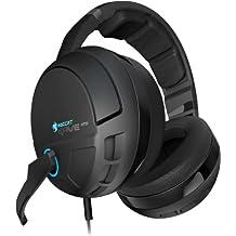 Roccat Kave XTD 5.1 - Auriculares Gaming de diadema cerrados (gaming, con micrófono, USB), negro