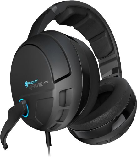 ROCCAT ROC-14-160 Kave XTD Digital Premium 5.1 Surround Headset mit USB/Sound Card Digital Headset