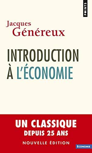 Introduction à l'économie (nouvelle édition) par Jacques Genereux
