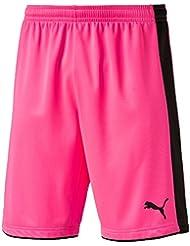 Puma Tournament GK–Pantalones cortos Fluro Rosa, 10 años (140 cm)
