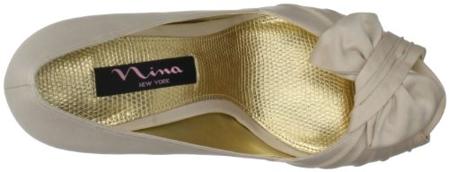 Nina Bridal Forbes Azul Special Occasion Neob FORBES01, Sandali Donna Beige (Powered Sand)