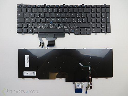 Neu Original Dell Latitude E5550 ohne Hintergrundbeleuchtung Dual-pointing 107-Key Italienisch Layout Tastatur: 5YWV7 / 05YWV7 - Dual-pointing-tastatur