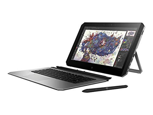 HP 3FB86UT#ABA Zbook X2 G4 abnehmbare Workstation, 35,6 cm (14 Zoll) Windows Tablet mit Bluetooth-Tastatur, 512 GB, Grau Aba Bluetooth