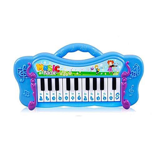 WEISY Toy Piano - Early Education Piano & Drums Instrument for1 2 3 Year Olds Baby, elektronische Tastatur für Kleinkinder Kinder Jungen und Mädchen Lernen