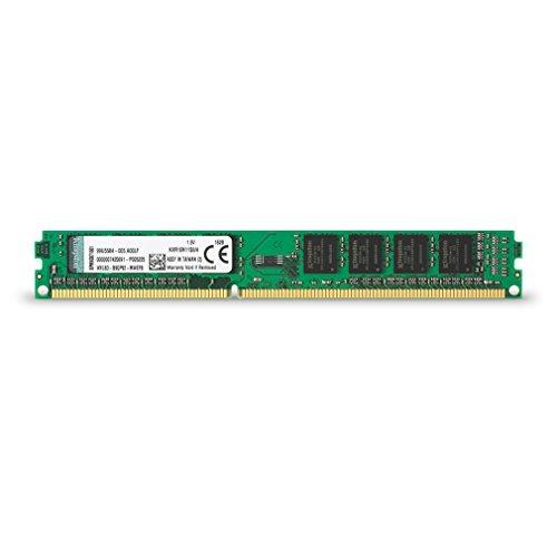 Kingston KVR16N11S8/4 Memoria RAM da 4 GB, 1600 MHz, DDR3, Non-ECC CL11 DIMM, 240-pin, 1.5 V