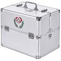 Kit de Medicina Familiar Blanco Aleación de Aluminio Tamaño Especial Kit de Primeros Auxilios Multicapa Completo Acceso Productos médicos Kit médico casero