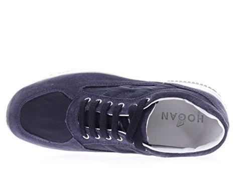 Hogan Junior Bambina Sneaker HXC00N00E118GMU810 Interactive h Blu