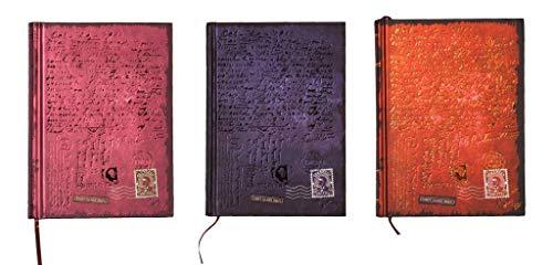 Kalpa Mail Dreamnote Skizzenbuch Organizer Notizbuch Tagebuch Planer - 128 seiten - 15x 10.5cm - Mail - Kombi Pack von 4 (4 Pocket Organizer Mail)