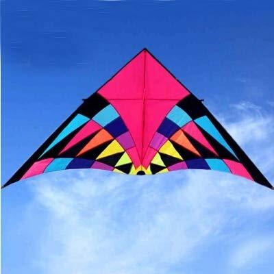 SECVBG 2.5M Gran Rainbow Kite Seductor Nylon Ripstop Flying Toys Kite Line Dragon Kite Windsock Parafoil Kite Birds