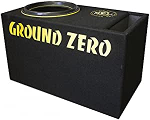 Ground Zero Subwoofer 38 In Kiste Reflex Gzib 3800spl Elektronik