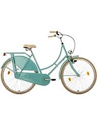 KS Cycling Damen Hollandrad Tussaud Singlespeed Rh 54 cm Fahrräder