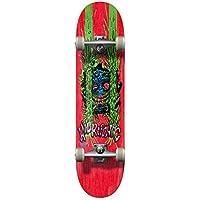 "Hydroponic Critter Complete Skateboard, Unisex Adulto, Rojo, 7.875"""