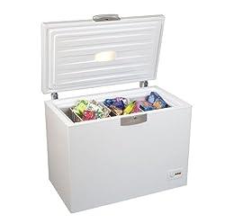 Beko HSA 24530 Gefriertruhe / A++ / 186 kWh/Jahr / 230 L Gefrieren / Weiß / Türschloss / Supergefrierfunktion / Temperaturregelung / Innenbeleuchtung