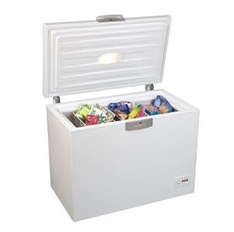 Beko HSA 24530 Gefriertruhe / A++ / 186 kWh/Jahr / Gefrieren: 230 L / Weiß / Türschloss / Supergefrierfunktion / Temperaturregelung / Innenbeleuchtung