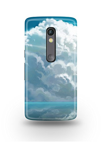 Moto X Play Cover,Moto X Play Case,Moto X Play Back Cover,Clouds Moto X Play Mobile Cover By The Shopmetro-12561