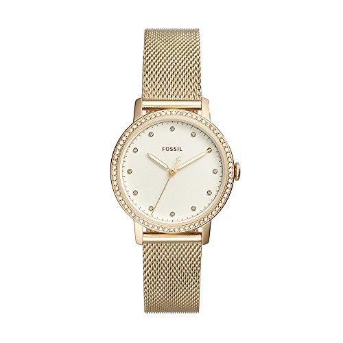 Fossil Women's Neely ES4366 Gold Stainless-Steel Japanese Quartz Dress Watch