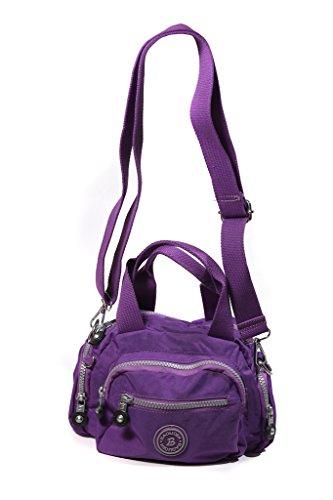 Baoliden ,  Unisex-Erwachsene Damen Schultertaschen violett