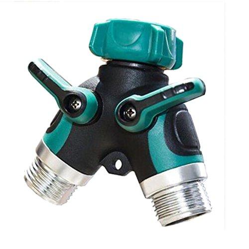 king-do-way-tubo-splitter-giardino-irrigazione-con-grande-valvola-di-controllo-tubo-2-vie-di-metallo