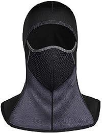 Ssowun Pasamontañas Impermeable Máscara Resistente al Viento y frío de esquí de Invierno al Aire Libre Sombrero Caliente Equipo Deportivo