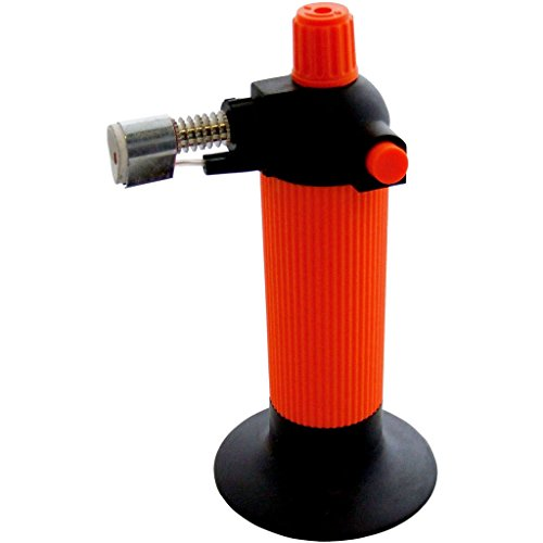 New Micro Butan Blow Taschenlampe mit verstellbarer Flamme Gas Löten Schweißen brulle