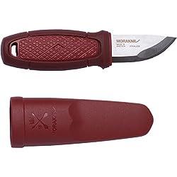 Mora FT01757 Cuchillo a Lama Fissa,Unisex - Adulto, Rojo, un tamaño