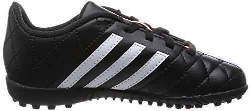 adidas Performance 11 Questra TF J Unisex-Kinder Fußballschuhe Schwarz (Core Black/Ftwr White/Flash Orange S15)
