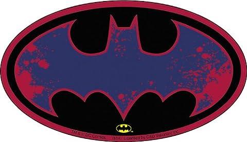 DC COMICS BATMAN SPLATTER LOGO, Officially Licensed Original Artwork, 2.8