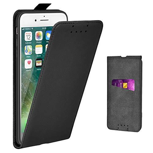 Adicase iPhone 7 Plus Hülle Leder Tasche für Apple iPhone 7 Plus