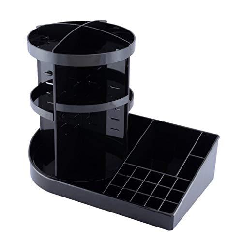 360 Degrés Rotation Bureau Cosmétique Boîte De Rangement Très Grand Creative Coiffeuse En Plastique Soins De La Peau Rack À Lèvres Rack