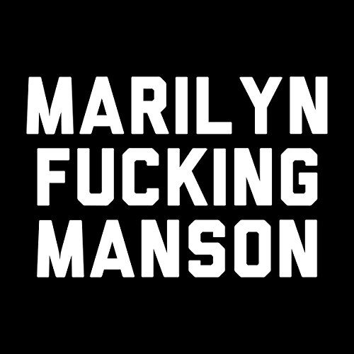 Marilyn Fucking Manson Women's Hooded Sweatshirt Black