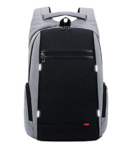 snfgoij Multifunktionale Rucksack Schultasche Männlichen Studenten Jugend Reisetaschen Große Kapazität Business 15 6 Zoll Computer Rucksack,DarkGray-OneSize