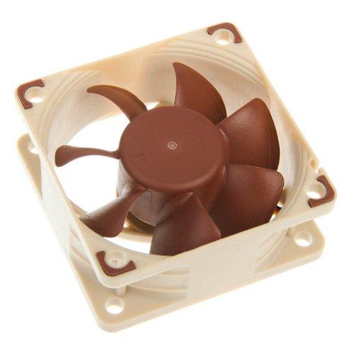 Noctua NF-A6X25 FLX ventilateur, refroidisseur et radiateur - ventilateurs, refoidisseurs et radiateurs (Boitier PC, Ventilateur, Marron)