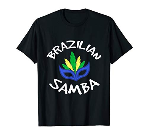 Samba Brasilien Rio Janeiro Carioca T-Shirt Karneval