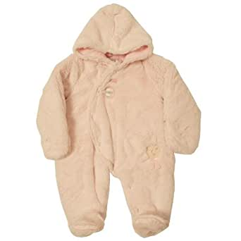 Dizzy Daisy Baby Girl's Lucinda Lamb Snowsuit Pink 3 - 6 Months