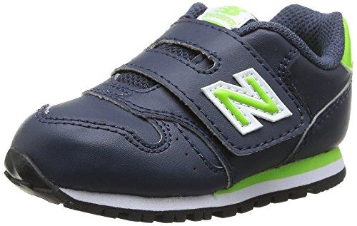 New Balance  KV373NLI, Jungen Sneaker Navy Lime