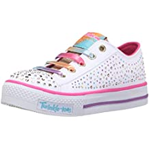 Twinkle Toes By Skechers S Light-Shuffles-Twirly Toes Nina Zapatillas