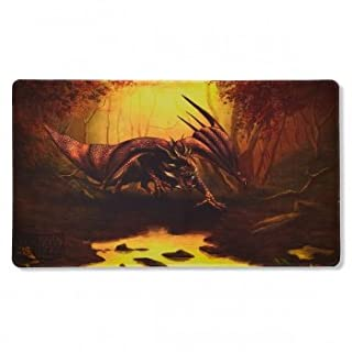 Arcane Tinmen ApS ART21511 Playmat: Limited Edition Teranha Dragon Shield Spielmatte Matte Umber Limitiert Card Game, One Size
