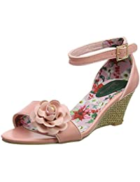 930ef7f70d953 Joe Browns Womens Flower Corsage Floral Print Wedge Shoes