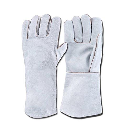 GLJY Anti-Biss Handschuhe Für Fangen Hund Katze Reptil Tier Sicherheit Leder Haustiere Greifen Beißende Schutzhandschuhe,5Pairs