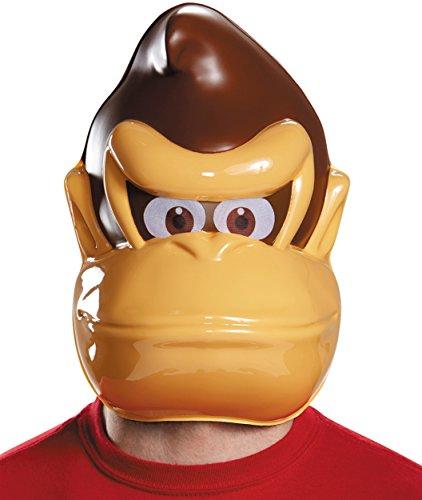 Generique - Donkey Kong Maske für Erwachsene ()