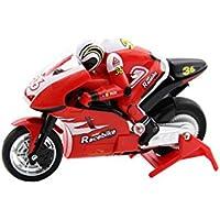 XciteRC 34000100 - control remoto de carreras de motos de RC Mini Bike RTR 2.4 GHz, rojo