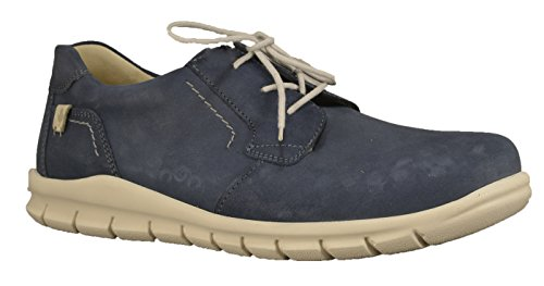 Waldläufer 366002-191-206, Scarpe stringate uomo Blau