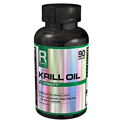 Reflex Nutrition Krill Oil 500mg - 90 Capsules by Reflex Nutrition