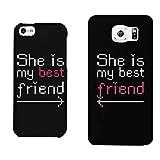 365impresión BFF teléfono cubre She 's mi mejor amigo a juego BFF teléfono - Best Reviews Guide