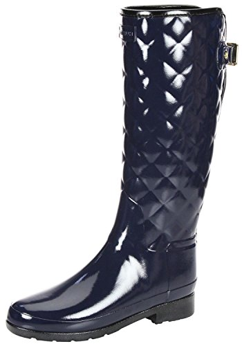Botas Hunter Refined Gloss Azul Marino
