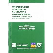 Organización territorial en España y Latinoamérica