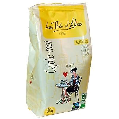 Thé Blanc Bio Cajole Moi : Banane, Guimauve, Vanille 80g