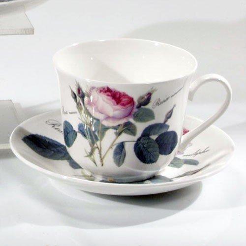 Rosa Roy Kirkham Sweet Pea Kaffeetasse und Untertasse